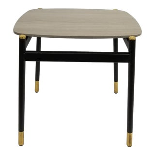 Mid-Century Modern West Elm End Table For Sale