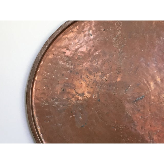 Vintage Rustic Copper Tray - Image 8 of 9