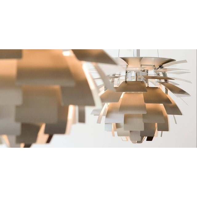 Not Yet Made - Made To Order Poul Henningsen White PH Artichoke Chandelier for Louis Poulsen For Sale - Image 5 of 6
