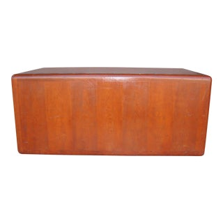 1970s Mid Century Wooden Coffee Table For Sale