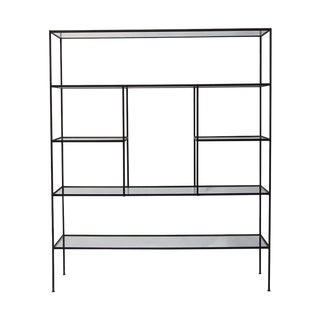 "Large 60"" Iron Etagere by Frederick Weinberg For Sale"