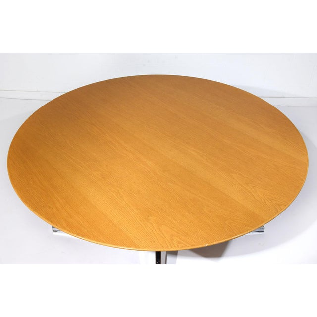 Mid-Century Modern-style Dining Table by Florence Knoll International - Image 5 of 8