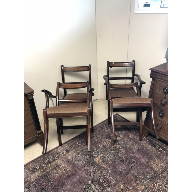 Early 20th Century Antique Chairs - Set of 4 For Sale - Image 9 of 10