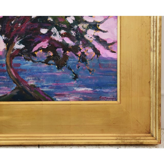 Impressionist Seascape Landscape Painting by Juan Pepe Guzman For Sale In Los Angeles - Image 6 of 10