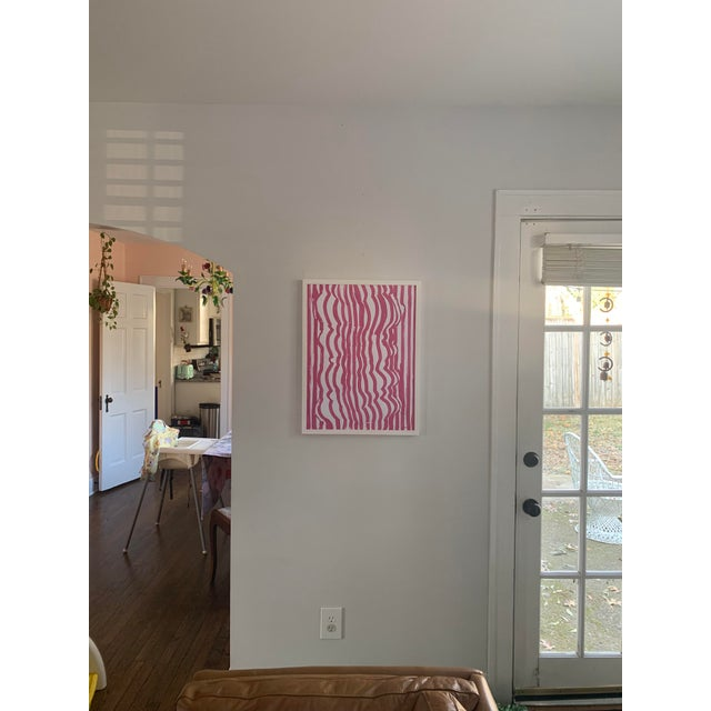 Paint 'Form Fitted' Contemporary Original Painting For Sale - Image 7 of 7