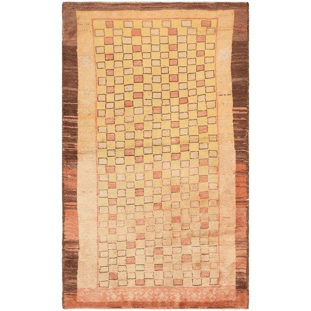 Brown Vintage Turkish Tulu Rug - 4′ × 6′ For Sale - Image 8 of 8
