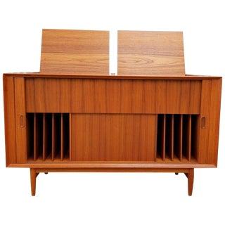 Arne Vodder Entertainment, Music Cabinet, Credenza For Sale