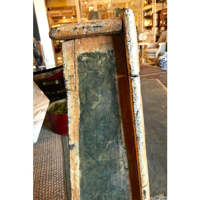 Wood Late 18th Century Italian Tuscan Bench For Sale - Image 7 of 9