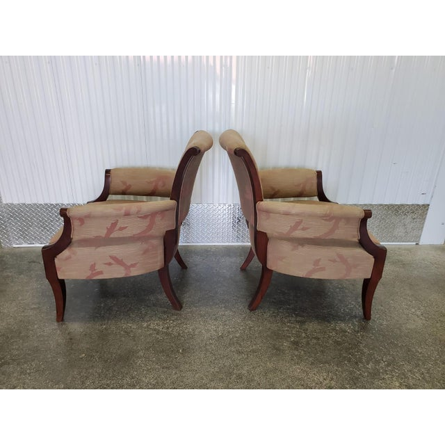 Chic Barbara Barry Lounge Chairs for Baker Furniture - a Pair For Sale In Miami - Image 6 of 8