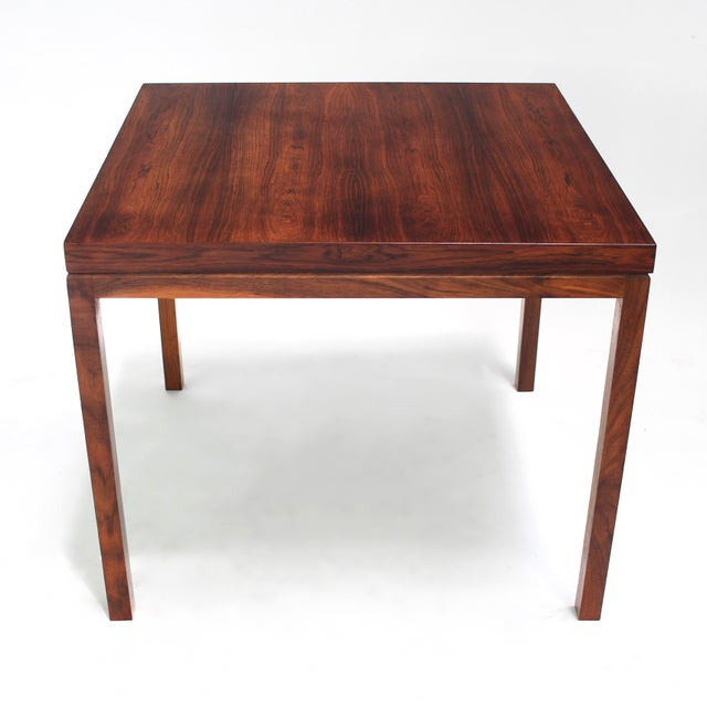 Presenting this stunning Rosewood table by Milo Baughman for Thayer Coggin. This piece is truly a show stopper and can be...