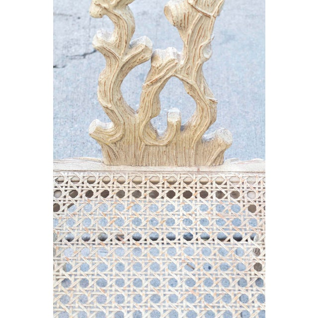 Decorative Branch Faux-Bois Chairs - Set of 4 - Image 9 of 10