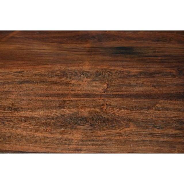 Illum Wikkelsø Rosewood Desk For Sale - Image 9 of 10
