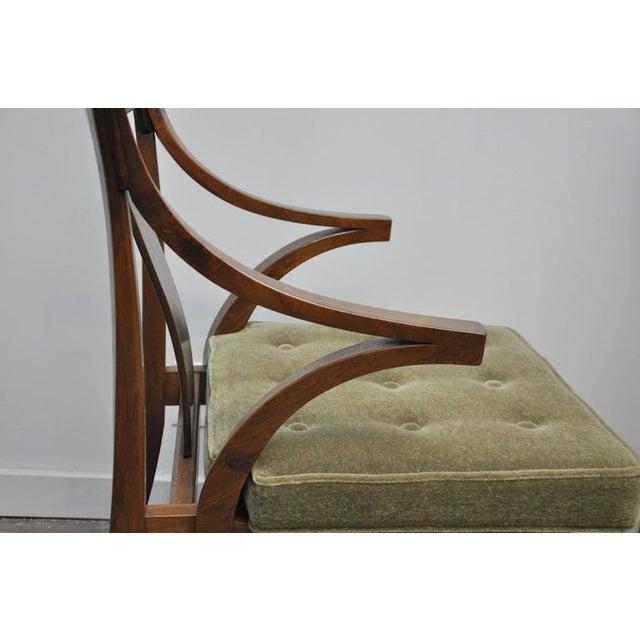 "Dunbar Set of Four ""Greene & Greene"" Chairs by Edward Wormley - Image 4 of 8"