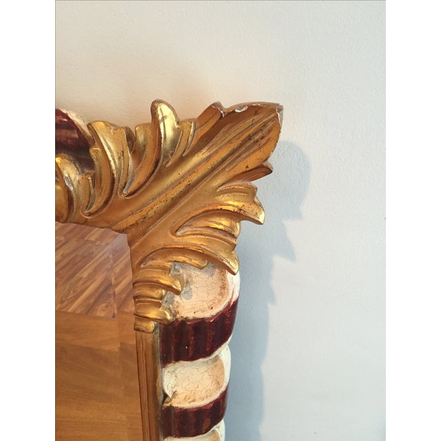 Harrison and Gil Hand Carved Dauphine Mirror For Sale In New York - Image 6 of 7