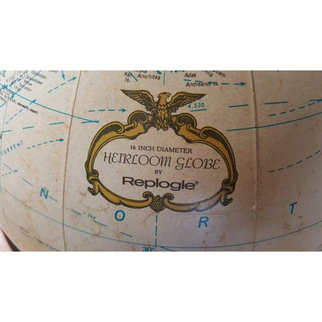 Replogle Vintage Illuminated Heirloom Globe For Sale - Image 11 of 11