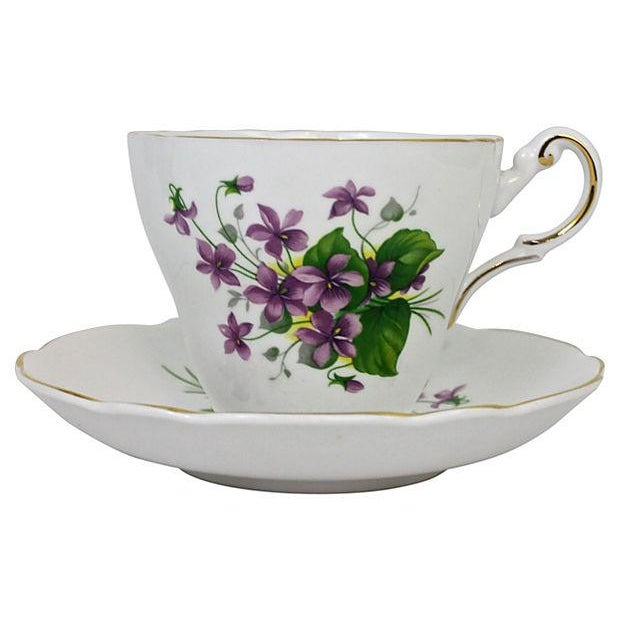 Bone China Cup & Saucer - A Pair - Image 1 of 7