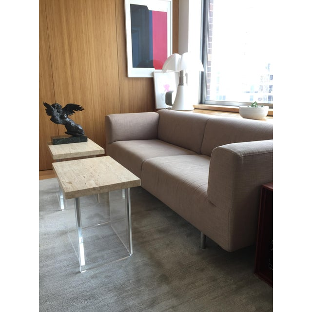 Cassina Met 250 Beige Sofa by Piero Lissoni For Sale - Image 5 of 10