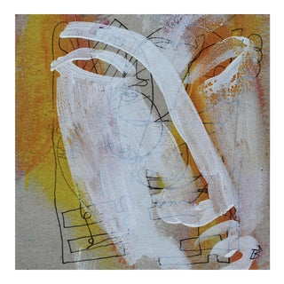Original Abstract Portrait Painting