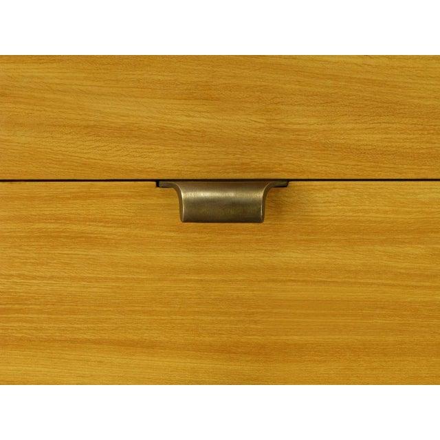 Edward Wormley Glazed Elm Dresser For Drexel For Sale In Chicago - Image 6 of 7