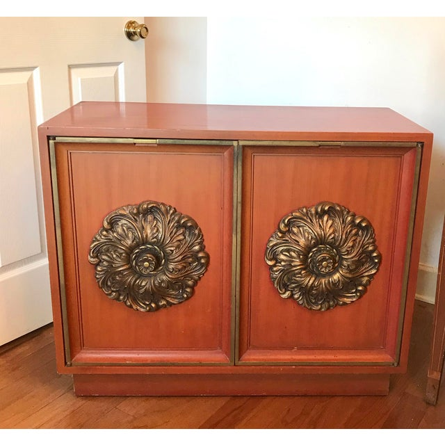 Wood Mid-Century J. Mont Style Cabinet For Sale - Image 7 of 7