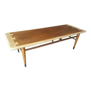 1950s Mid Century Modern Lane Furniture Acclaim Coffee Table For Sale