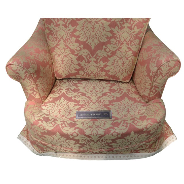 These like-new custom designed Edward Ferrell chairs are comfy cozy. The perfect size for anyone and anywhere. These regal...
