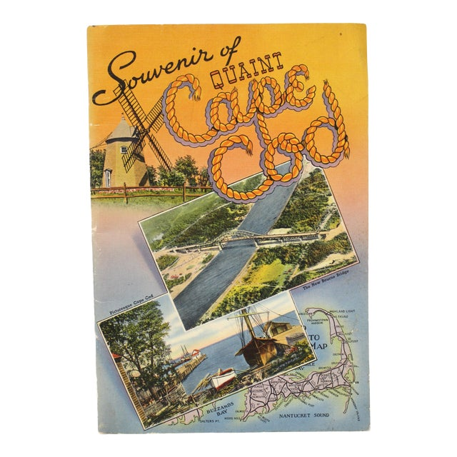 Mid-Century Book Buzzards Bay Quaint Cape Cod For Sale
