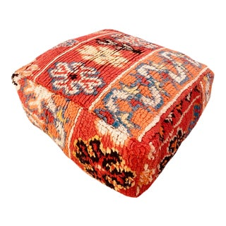 Square Moroccan Unstuffed Pouf For Sale