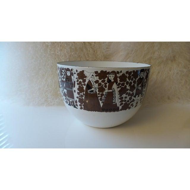 Kaj Franck for Arabia Finland Enamel Metal Bowl For Sale - Image 11 of 11