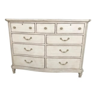 Stanley Furniture White Dresser For Sale
