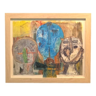 "Contemporary ""Bird Story"" By, Ellen Reinkraut For Sale"