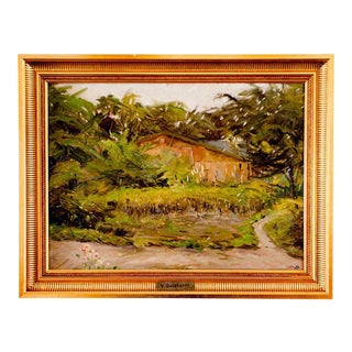 Oil Painting by Victor Qvistorff 1882 - 1953 For Sale