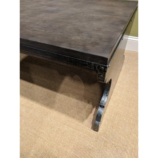 Contemporary Organic Modern Woodbridge Harlan Cocktail Table For Sale - Image 3 of 5