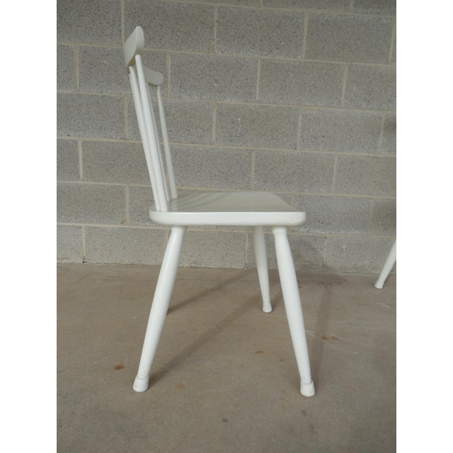 Paul McCobb Planner Group Factory Painted Side Chairs - Set of 5 - Image 5 of 7