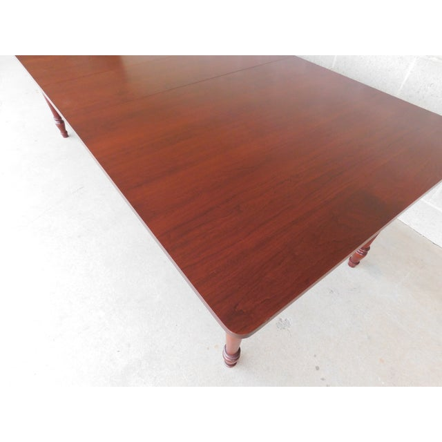 Tom Seely Solid Cherry Country Style Dining Table For Sale In Philadelphia - Image 6 of 11
