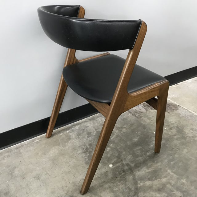 Set of 6 Kai Kristiansen Dining Chairs For Sale - Image 9 of 13