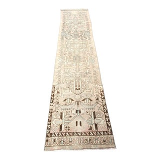 1960s Turkish Anatolian Runner-2′3″ × 12′4″ For Sale