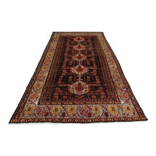 Collectable Antique Hand Knotted Turkish Kula Rug For Sale