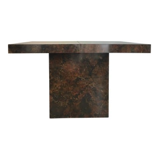 Burlewood Dining Table For Sale
