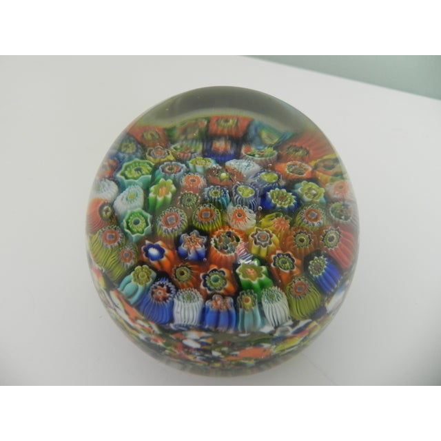 Italian Vintage Murano Glass Paperweight For Sale - Image 3 of 5