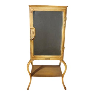 Antique American Medical Cabinet For Sale
