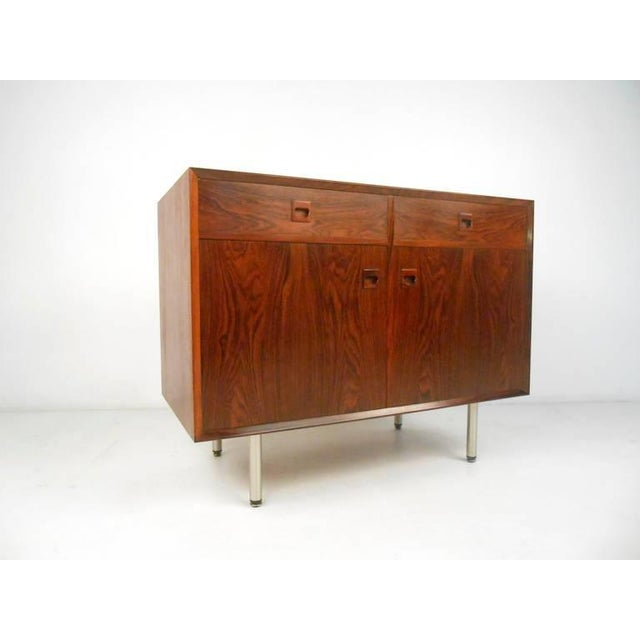 Danish Modern Danish Modern Rosewood Cabinets - a Pair For Sale - Image 3 of 10