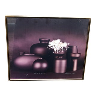 Greg Copeland Signed Photograph Print in Frame For Sale