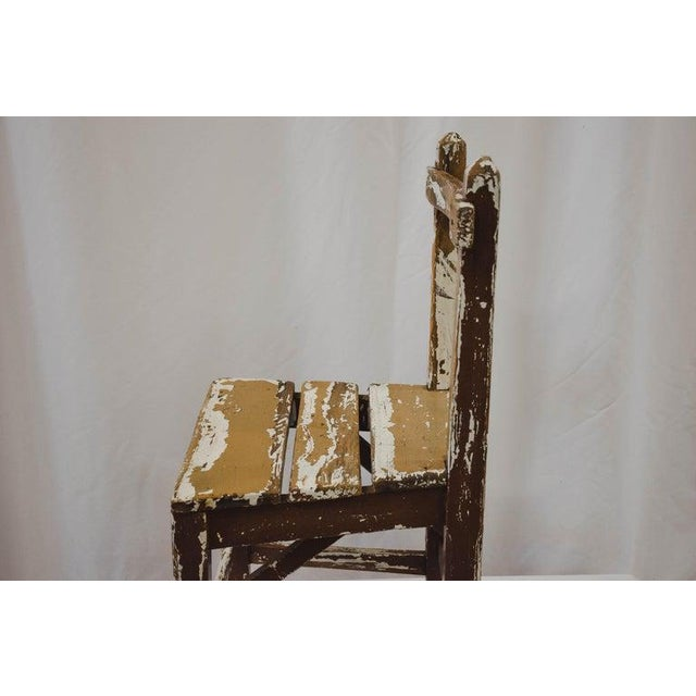 Vintage Child's Chair For Sale - Image 11 of 13