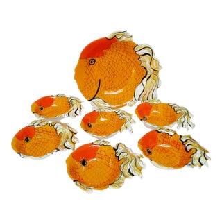 Beth Allison Gripenstraw Bowls - Set of 7 For Sale
