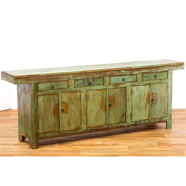 Save the planet antique reclaimed solid wood buffet for Reclaimed wood dc