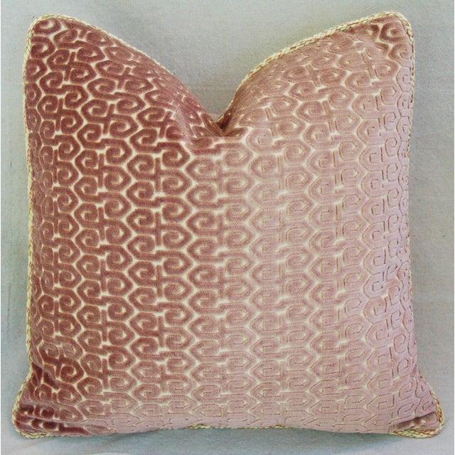 Designer Old World Weavers Velvet Pillows - A Pair - Image 8 of 11