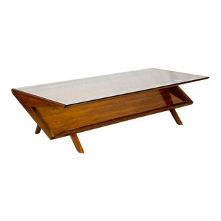 John Keal for Brown Saltman Mid-Century Coffee Table For Sale