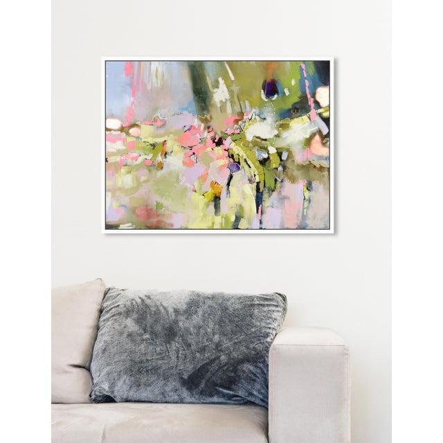 "Oliver Gal Medium 'Michaela Nessim - Energy and Breakthrough' Framed Art 24"" x 18"" For Sale In Miami - Image 6 of 7"