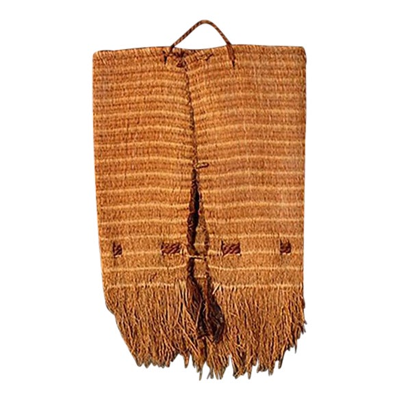 Wall Hanging Native American Woven Bag For Sale